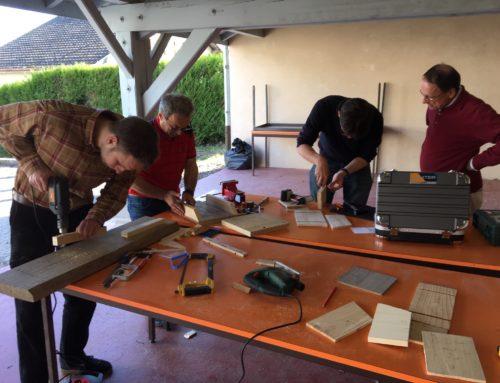 Construction de logis pour chauve-souris et nichoirs pour pollinisateurs